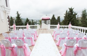 Wedding reception overview